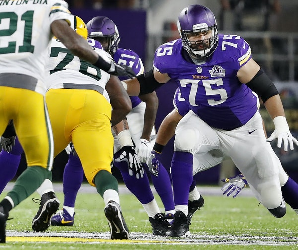 The Vikings have a hole at left tackle with no heir apparent on the 2017 roster. So where does that leave Matt Kalil (75), a pending free agent with a