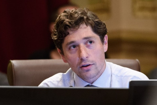 Minneapolis City Council member Jacob Frey, who is running for mayor, leads the pack of candidates who released copies of their campaign finance repor