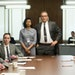 """An image from """"Hidden Figures"""" shows Katherine Johnson, portrayed by Taraji Henson, in the historical film about black women's contributions to"""