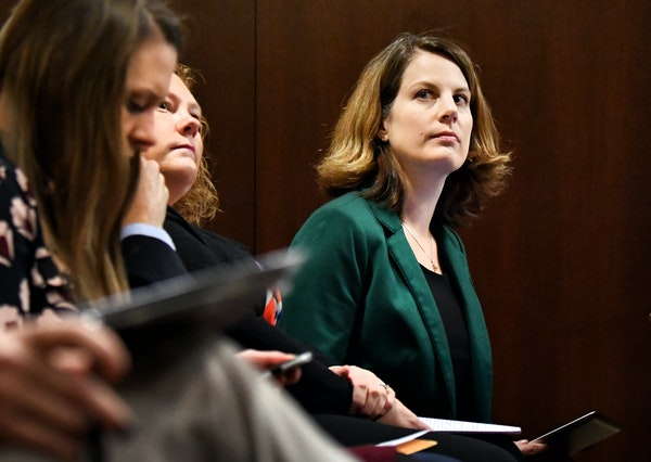 """'Nerve-racking': """"It was unaffordable for me,"""" said Ellie Beaver, right, an American Cancer Society lobbyist once covered through the high-ris"""