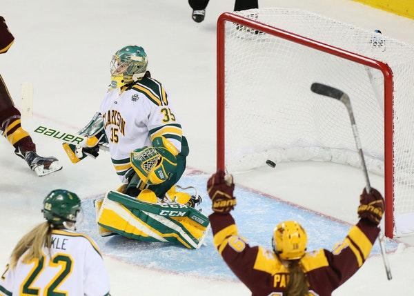 Brad Frost, Lee Stecklein react to Gophers loss