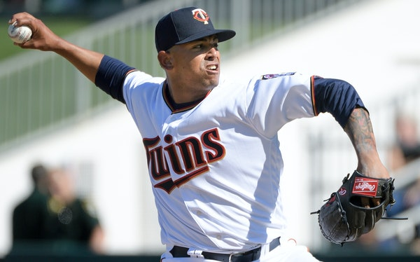 The Twins' 22-year-old righthander, Fernando Romero, turned some heads by hitting 98 miles per hour on the radar gun Sunday against Washington.