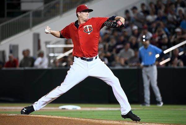 Minnesota Twins starting pitcher Kyle Gibson