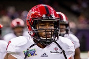 Money Hunter is a 6-1, 194-pound cornerback/safety from Arkansas State.