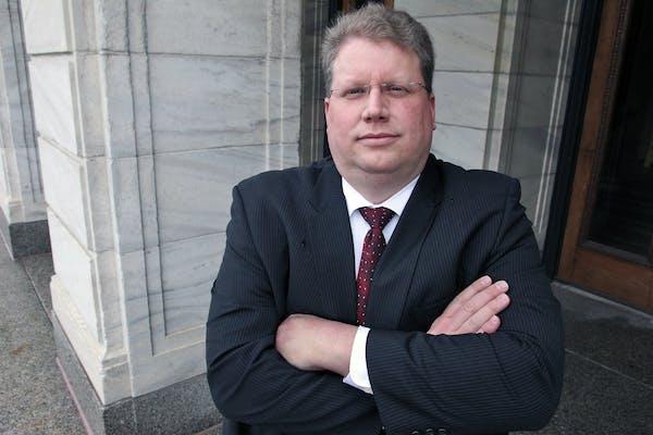 Minneapolis DFL Chair Dan McConnell.