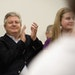Marcus Bachmann applauded his wife during her presidential campaign in Iowa in 2011.