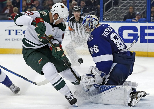 The Wild's Eric Staal, 32, will become the 311th player to appear in 1,000 NHL games over 13 seasons on Sunday.