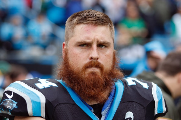 Mike Remmers, formerly of the Panthers, signed a five-year deal worth up to $30 million with the Vikings.