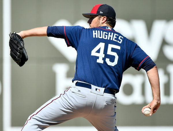 After an injury-shortened 2016, veteran Twins righthander Phil Hughes believes he has life back in his fastball, and — once again — he is determin