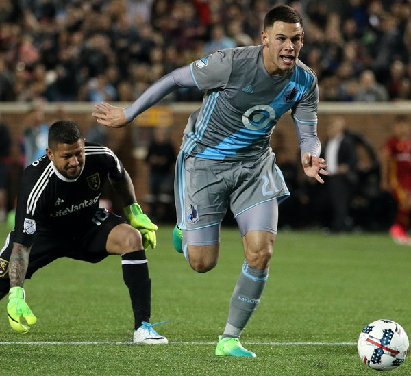 Forward Christian Ramirez leads an improving Minnesota United FC attack with four goals on 18 shots.