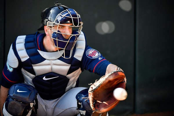 Twins newcomer Jason Castro needs a soft and steady catching hand behind the plate.