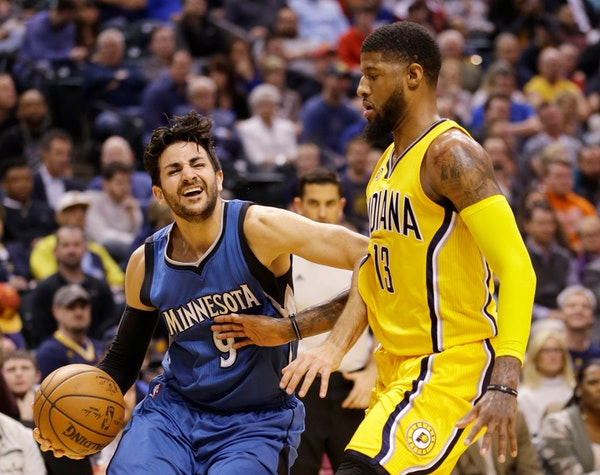 Wolves hit free throws, beat Pacers 115-114