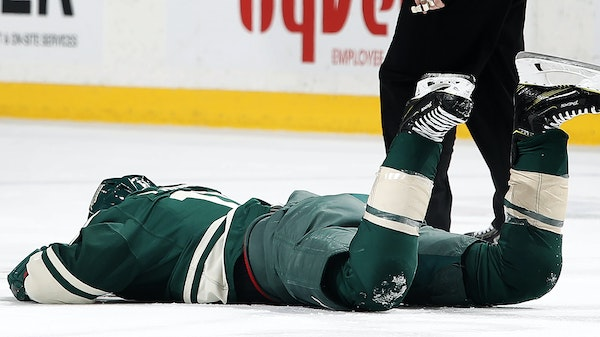Zach Parise took a stick blade to the eye Tuesday against Washington, an injury that turned out to be not nearly as serious as it looked, or could hav