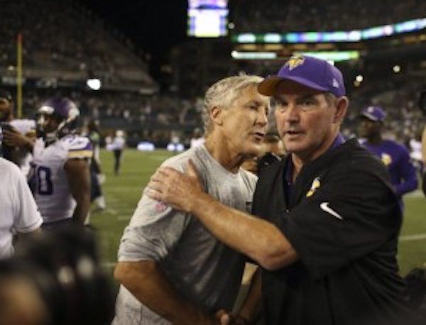 Could the Vikings find first-round draft trade partner with Seattle?