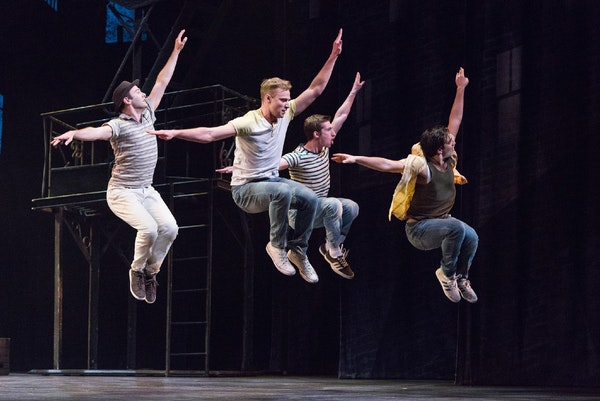 """The Jets in the Ordway's """"West Side Story."""""""