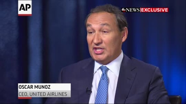 United CEO 'ashamed' about passenger's removal