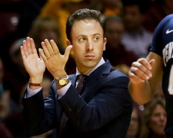 Richard Pitino's team went 8-23 in 2015-16, making many people wonder how much longer he would be the men's basketball coach at the U.