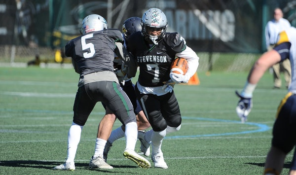 Stevenson University star Austin Tennessee is hoping to be one of the rare players to make the jump from Division III football to the NFL.,