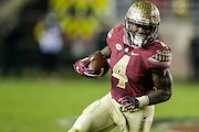 Florida State Seminoles running back Dalvin Cook was selected in the second round by the Vikings.