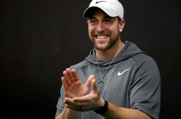 Vikings' leading receiver Adam Thielen began his career as an undrafted free agent with little chance to make the team.