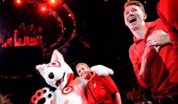 Target Corp.: Employees of the Minneapolis-based retailer had fun at a 2015 fall meeting at Target Center, but the fight against Amazon.com and Wal-Ma