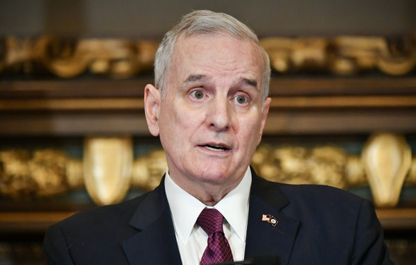 Gov. Mark Dayton, shown in April, vetoed a bill that would have cut off state money for abortions and another to require that abortion clinics be lice