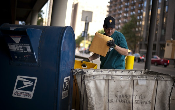 The U.S. Postal Service is battling a long-term decline in mail volume amid changes in how people communicate.
