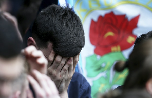 Blackburn Rovers fans have a reason to be dejected. Their once proud team — the Premier League champion in 1995 — was in the third division this s