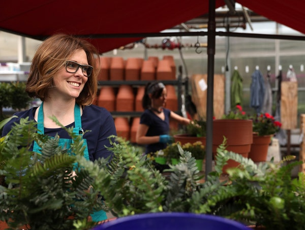 Jessie Jacobson worked at Tonkadale Greenhouse when she was a kid; today she's the owner of the Minnetonka business, offering landscape and garden p