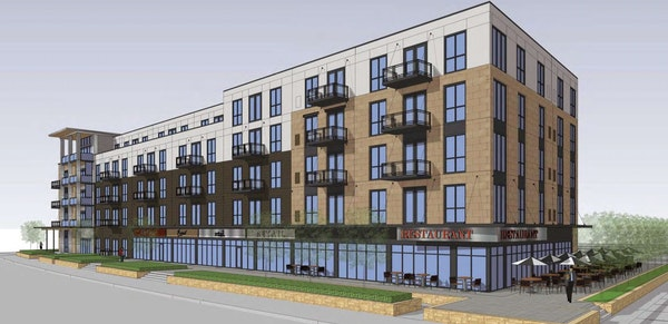 Apartment and retail project planned at former Forest Lake City Hall