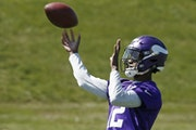 Vikings rookie wide receiver Rodney Adams' heart still aches from the untimely death of his mother four years ago, but he and other family members k