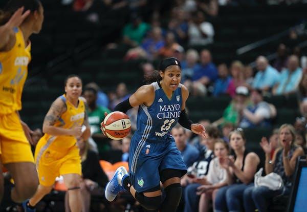 Minnesota Lynx forward Maya Moore