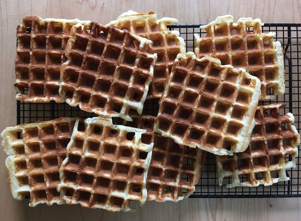 Hungry for delicious waffles?