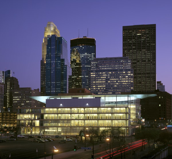 The current Minneapolis Central Library, designed by Cesar Pelli, opened in 2006.