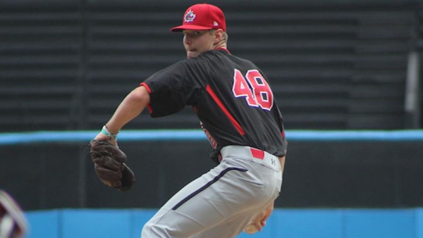 Landon Leach was taken by the Twins in the second round of the draft.