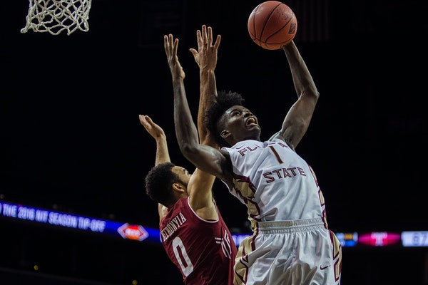 Florida State freshman forward Jonathan Isaac -- with his height, reach and skills uncommon for such a tall man -- embodies the new NBA.