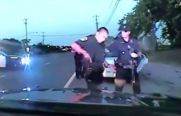 Dashcam video taken during officer Jeronimo Yanez's stop of Philando Castile. Yanez received just two hours of de-escalation training two months befor