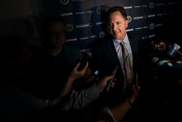 Twins boss Falvey talks about No. 1 pick