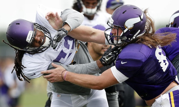 Vikings expect Morgan to push for roster spot as all-purpose tight end