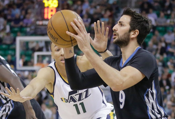 Minnesota Timberwolves guard Ricky Rubio