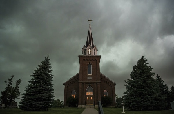 Vasa Lutheran Church, outside of Red Wing, is one of Minnesota's most historically significant churches. Its congregation is holding its own now but