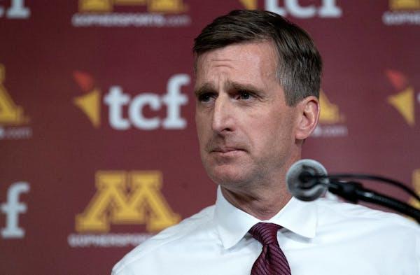 University of Minnesota Athletics Director Mark Coyle.