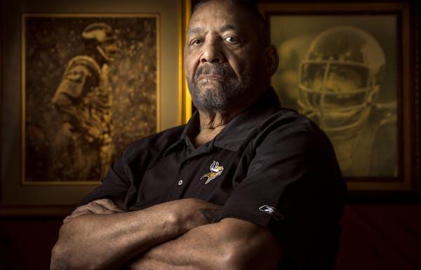 Former Vikings great Jim Marshall. Jerry Holt/Star Tribune photo