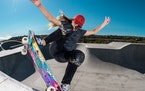 Brighton Zeuner, 12, became the youngest ever female competitor in an X Games last summer. She has her sights set on winning at this year's Games in