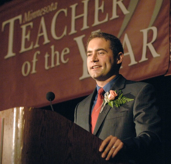 Ryan Vernosh, shown in 2010, is now the principal at Maxfield Elementary.