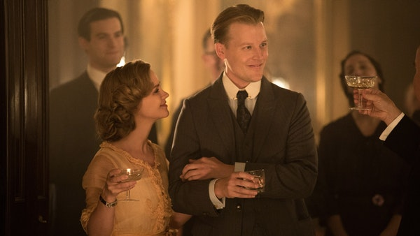 """A scene from the new """"Z: The Beginning Of Everything"""" starring David Hoflin as F. Scott Fitzgerald and Christina Ricci as Zelda."""
