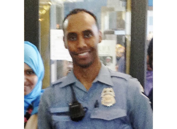 In this May 2016 image provided by the city of Minneapolis, police officer Mohamed Noor poses for a photo at a community event welcoming him to the Mi