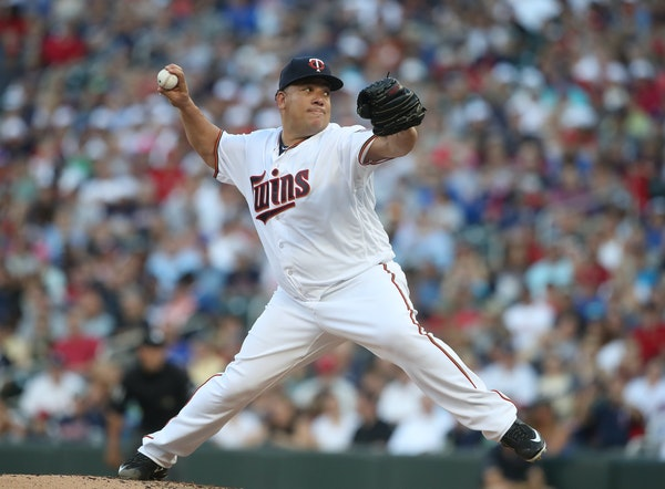 New (and old) Twins starter Bartolo Colon was effective for three innings, slipped by with minimal damage in the fourth but had to be yanked in the fi