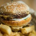"""The """"Dirty Secret"""" is a vegan take on a Big Mac at J. Selby's in St. Paul."""