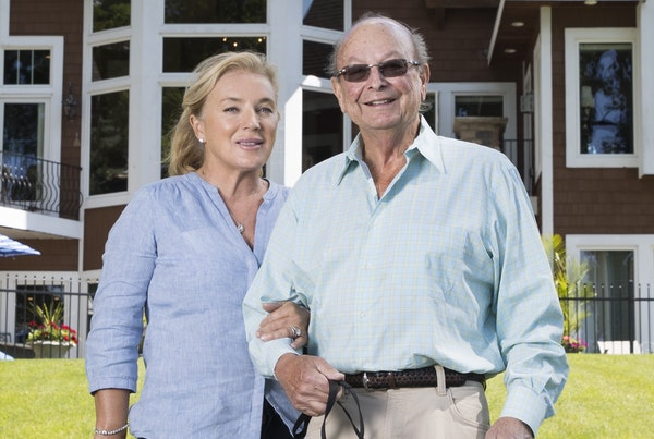 Charles Barry is accused of spending corporate money on his longtime mistress, now his wife, Kathleen Bryan-Barry.